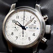 Fortis Chronograph Stahl Ref.635.10.12 M Papiere Kasten