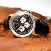 Breitling Navitimer 750er Gold Ref. 81600