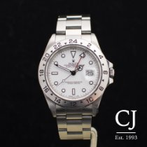 Rolex Explorer II 2 Stainless Steel White Dial 1993