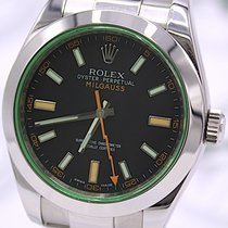 Rolex Milgauss Ref. 116400GV von 2009 mit Echtheitsbescheinigung