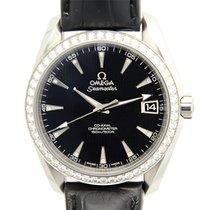 歐米茄 (Omega) Seamaster Stainless Steel With Diamonds Black...