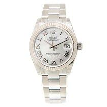 勞力士 (Rolex) Lady Datejust 18k White Steel White Automatic...