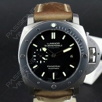 Panerai Luminor Submersible 1950 Amagnetic 3 Days PAM 389 Full...
