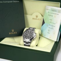 Rolex Daytona Black Dial w/ Box & Papers 116520