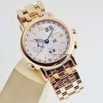 Ulysse Nardin Perpetual Calendar GMT +-  top condition box and...