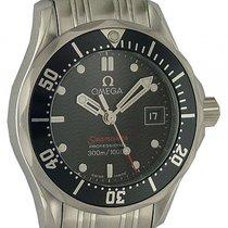 Omega Seamaster Diver 300m Stahl Quarz Armband Stahl 28mm