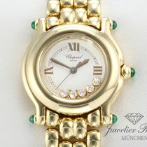 Chopard Happy Sport Lady Gelbgold 750 Diamanten Brillanten 276150