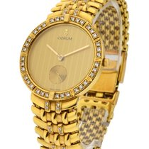 Corum 94.130.65 Classical in Yellow Gold with Diamonds on...