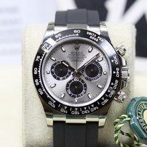 Rolex Daytona Weissgold Oysterflex