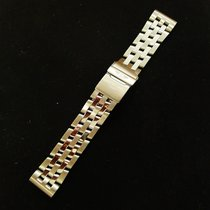 Breitling Pilot Chrono 20mm Bracelet 316a End Pieces Stainless...