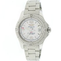 Breitling Colt Oceane 33MM Cream Dial Steel Ladies Watch...