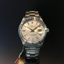 Rolex Men's Vintage Rolex Oyster Date with silver Dial,...