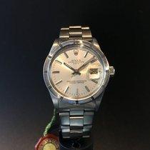 ロレックス (Rolex) Men's Vintage Rolex Oyster Date with silver...
