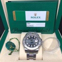Rolex Yacht Master 40mm Steel Dark Rhodium Dial 116622
