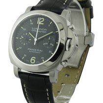 Panerai PAM 00310 PAM 310 Luminor Chronograph in Steel - on...