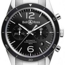Bell & Ross BR 126 Black Bezel BRV126-BL-BE/SST