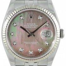 롤렉스 (Rolex) Datejust 36 116234-DMOPDFJ Dark Mother of Pearl...