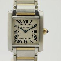 Cartier Tank Francaise Medium Quarz- Stahl/Gold