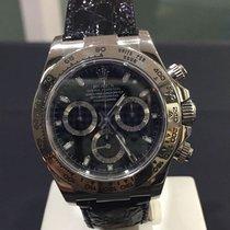 Rolex DAYTONA ORO BIANCO BLACK DIAL