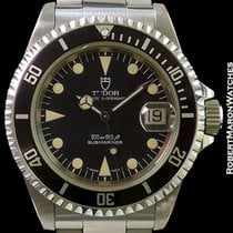 帝陀 (Tudor) Submariner 79190 Unpolished Steel W/ Papers
