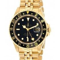 Rolex Gmt II 16718 Yellow Gold, 40mm