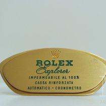 Rolex EXPLORER Agent Officiel targa display stand dealer vintage