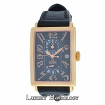 Gevril Mens Avenue of Americas 5121 Limited Ed 18K Rose Gold