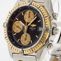 Breitling Chronomat Chrono Stahl/Gold Ref. D13050