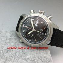 萬國 (IWC) IWC IW371333 Watch Pilots Double Chrono 40mm Auto w Card