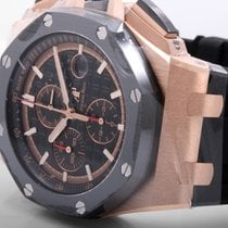 愛彼 (Audemars Piguet) 18K Rose Gold Royal Oak Offshore Chronogr...