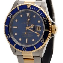Rolex Submariner DATE Oyster Perpetual 18KA Gold&Steel...