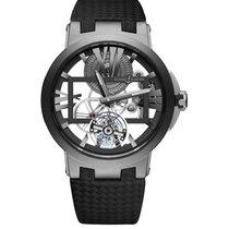 Ulysse Nardin Executive Skeleton Tourbillon Titanium Ceramic...