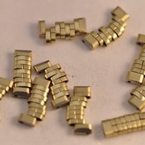 Omega Bracelet 1037 Link Beads Of Rice New Old Stock Gold Plated