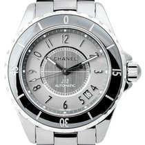 Chanel J12 38mm Chromatic Black Bezel H2979