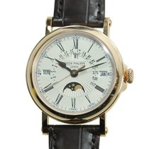Patek Philippe Grand Complications 18k Rose Gold White...