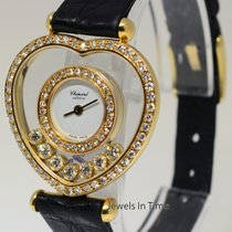 Chopard Happy Heart 18k Yellow Gold & Diamonds Ladies...