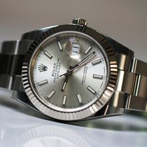 Rolex Datejust 41mm 126334 SILVER DIAL Unworn full set