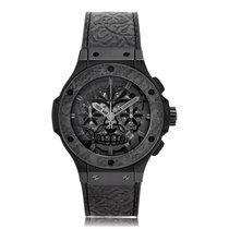 Hublot Big Bang Automatic Ceramic Black Dial Unisex Watch...