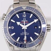 Omega Seamaster Planet Ocean Liquidmetal 600m Co-Axial blue...