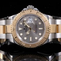 Rolex 16623 Twotone Yacht-Master, Slate Dial & Oyster Band