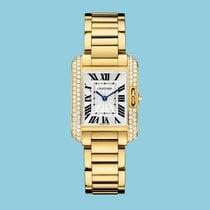 Cartier TANK ANGLAISE 30 Gelbgold -NEU- incl. VAT Export possible