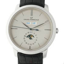 Girard Perregaux 1966 Full Calendar Moonphase Palladium 40mm