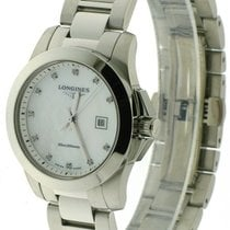 Longines Conquest - Quartz Ladies Watch Diamonds 29,5mm L32774876