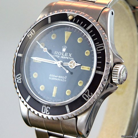 rolex 5512 submariner meters first gilt pcg von 1962. Black Bedroom Furniture Sets. Home Design Ideas