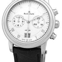 "Blancpain ""Villeret"" Chronograph Strapwatch."