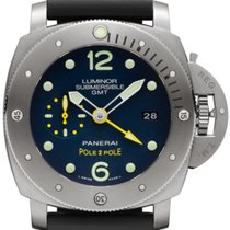 Panerai Luminor Submersible 1950 3 Days GMT Automatic Titanio...