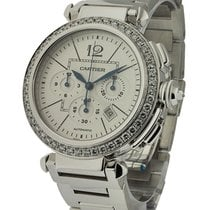 Cartier 98871LX Pasha Chronograph Boutique Edition - Diamond...