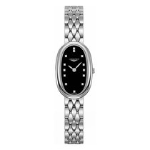 Longines Symphonette Stainless Steel Diamond Dial Ladies Watch...