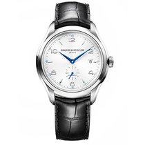 Baume & Mercier 10052 Clifton Small Seconds in Steel - on...