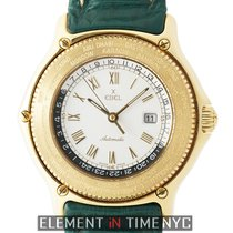 Ebel Voyager World Time GMT 18k Yellow Gold 38mm